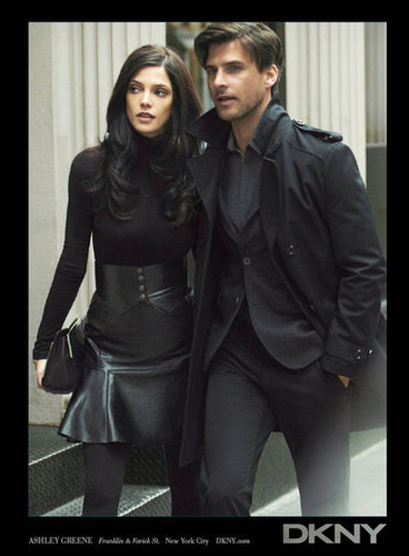 New foto from Ashley's Fall 2012 DKNY campaign.