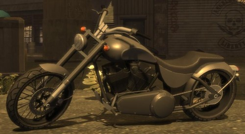 Grand Theft Auto IV The Lost And Damned Hintergrund possibly with a motorcycle cop called Nightblade