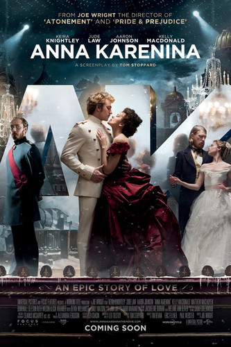 Official Poster for Joe Wright's 'Anna Karenina'