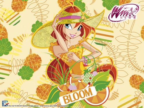 Official wallpaper 2012 Bloom Frutty