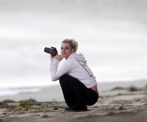 On The সৈকত In Malibu [23 June 2012]