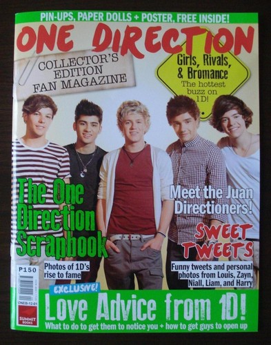 One Direction hình nền containing anime and a sign called One Direction Magazine (Philippines)