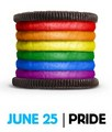 Oreos are gay! - lgbt photo