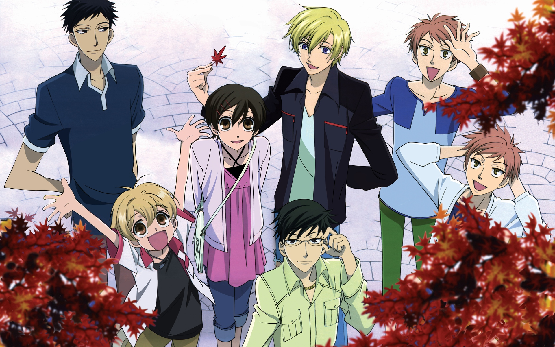 Reverse harem anime manga ouran high school host club