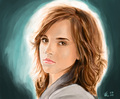 Paintings - hermione-granger photo