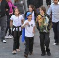 Paris Jackson, Spencer Malnik, Jarod Malnik and Prince Jackson 2009