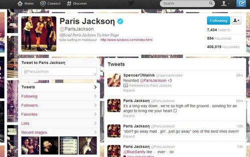 Paris Jackson and Spencer Malnik best 프렌즈 again Reunited :)