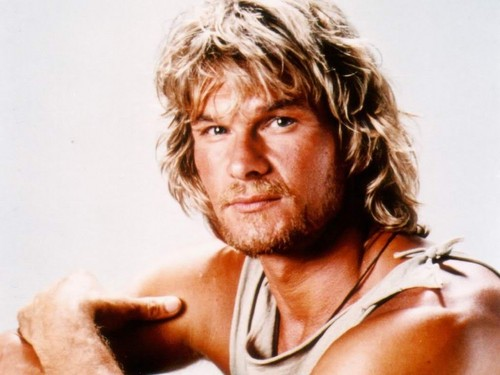 Patrick Swayze wallpaper containing skin and a portrait entitled Patrick Swayze