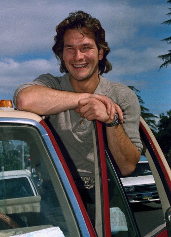 Patrick Swayze wallpaper containing an automobile titled Patrick Swayze