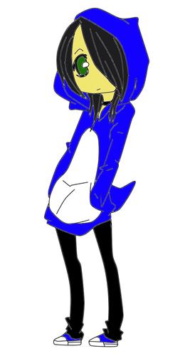 pinguin, penguin hoodie :3
