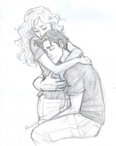 Percy just missed あなた Annabeth. . . a lot