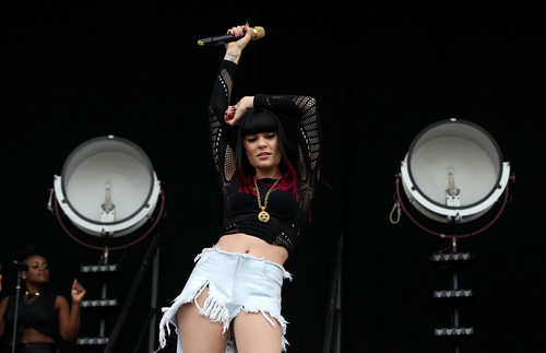 Performs On The Main Stage On Day 3 Of The Isle Of Wight Festival [23 June 2012] - jessie-j Photo