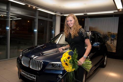 Petra Kvitova BMW 2012
