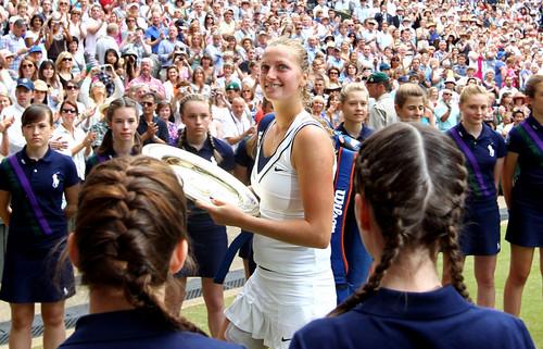 Petra Kvitova Wimbledon 2011..