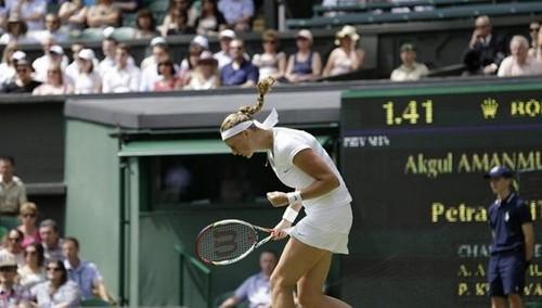 Petra Kvitova Wimbledon 2012..