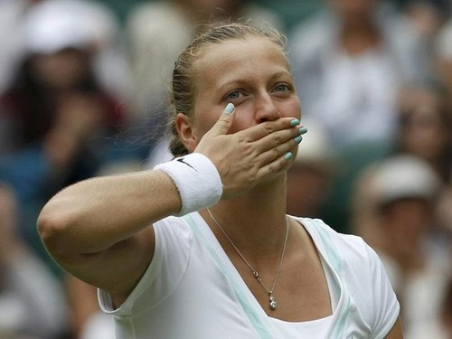 Petra Kvitova Wimbledon 2012.. - tennis Photo