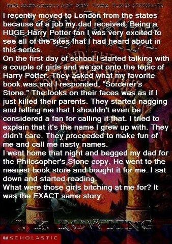 Philosopher's Stone vs Sorcerer's Stone