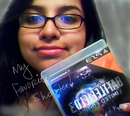 litrato of Me and My Copy of BF3, My love!!