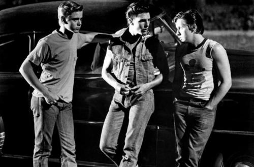 Ponyboy!...and Steve and Two-Bit...