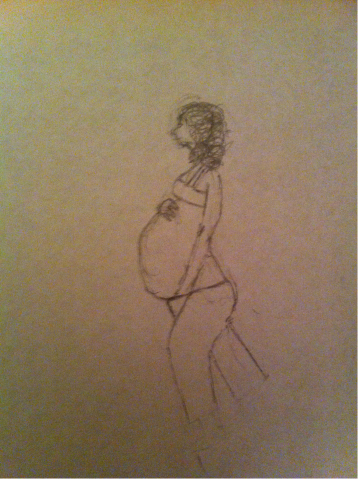 Pregnant Hermione Granger