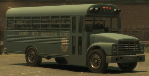 Grand Theft Auto IV The Lost And Damned Hintergrund called Prison Bus