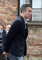 R. van Persie (Dutch team visiting Auschwitz)