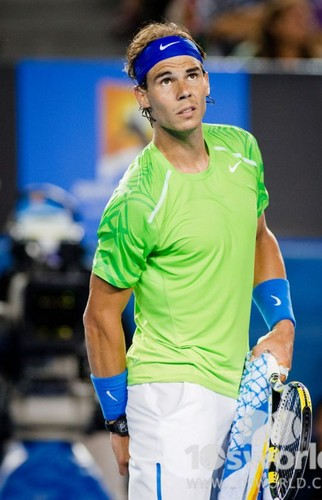 Rafa has hand in ass - tennis Photo