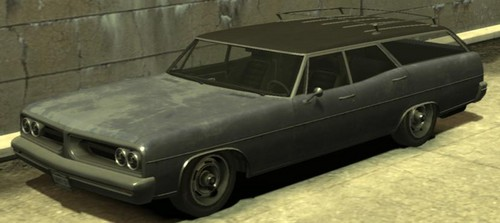 Grand Theft Auto IV The Lost And Damned Hintergrund containing a sedan, a strand wagon, and a hecktürmodell, fließheck entitled Regina