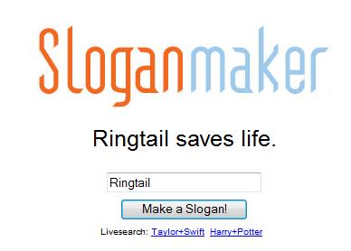 Ringtail...