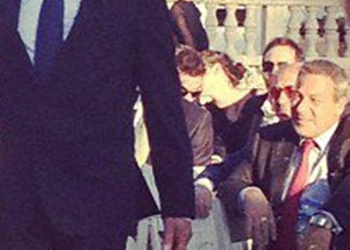 Robsten attending a wedding