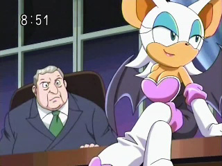 Rouge And The President - sonic-the-hedgehog Photo