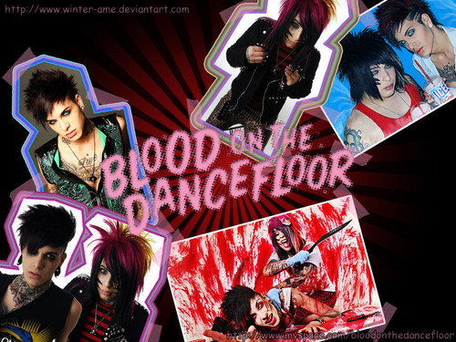 Blood on The Dance Floor achtergrond possibly containing anime titled SL@SH G@SH // BO†DF // Δ achtergrond !