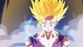 SSJ2 Gohan full power - dbz-fanfiction fan art