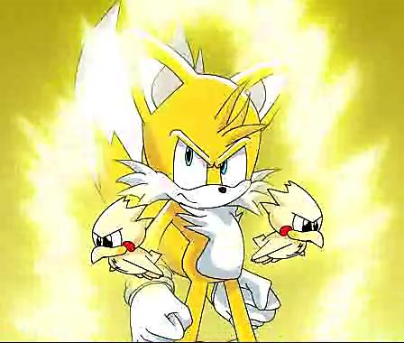 "Miles ""Tails"" Prower wallpaper entitled SUPER TAILS!!!!!!!!!!"
