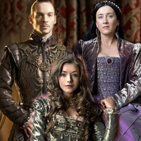 Tudor History wallpaper probably with a surcoat entitled Sarah Bolger as Mary Tudor