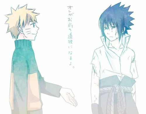 Sasuke and Naruto - naruto-shippuuden Photo