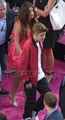 "Selena Gomez & Justin Bieber at the premiere of ""Katy Perry: Part Of Me"""