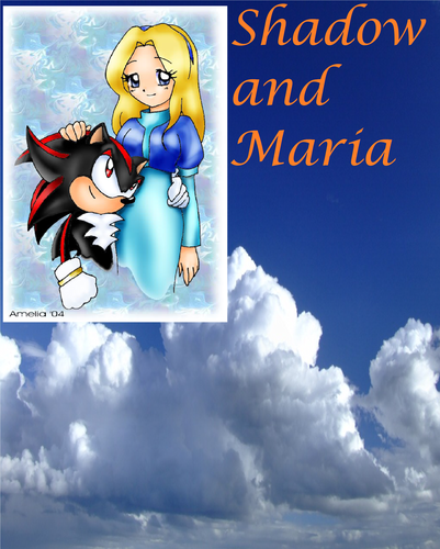 Shadow and Maria wallpaper