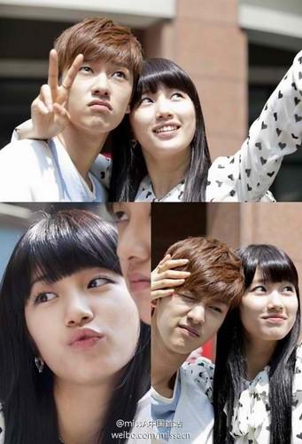 Shin won Ho & Suzy