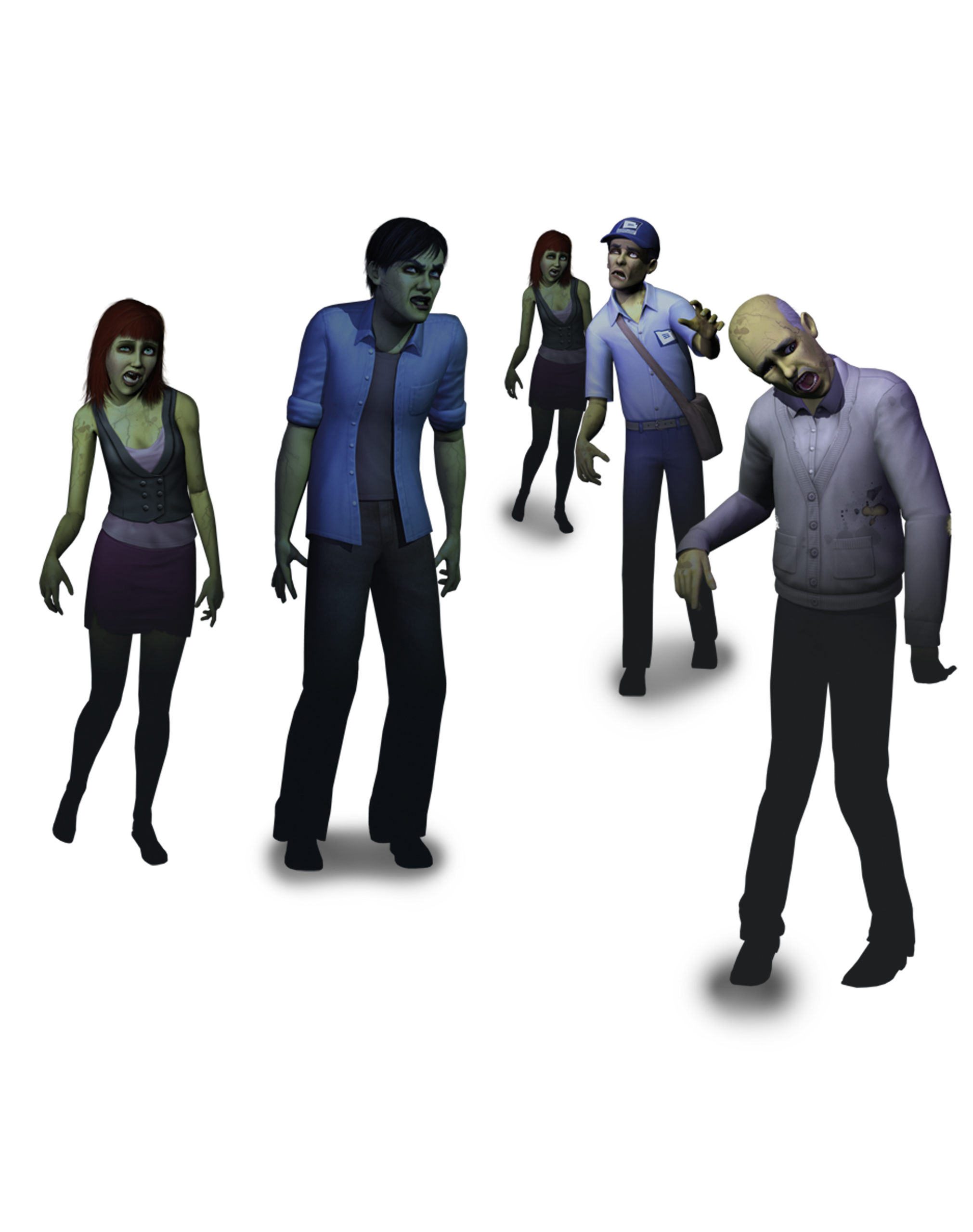 how to become a permanent zombie in sims 3