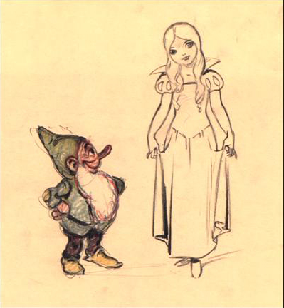 Snow White's Concept Art