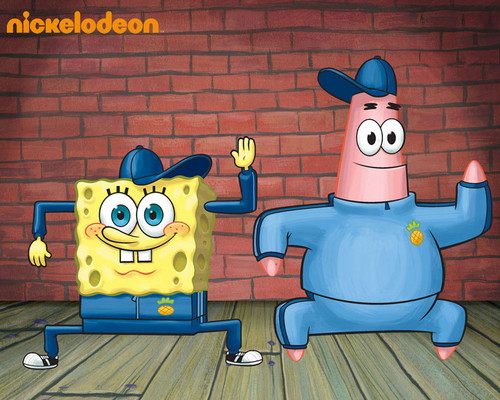 Spongebob Squarepants پیپر وال containing عملی حکمت entitled Spongebob & Patrick