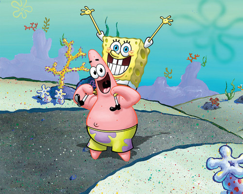 Spongebob Squarepants wallpaper called Spongebob & Patrick