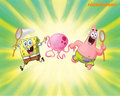 Spongebob &amp; Patrick - spongebob-squarepants wallpaper