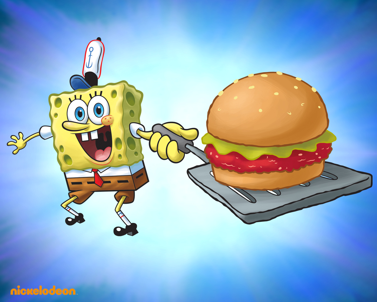 spongebob krabbenburger