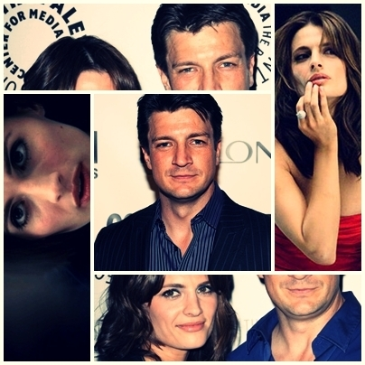 Nathan Fillion & Stana Katic wallpaper containing a portrait titled StaNathan <3