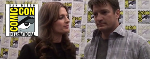 Nathan Fillion & Stana Katic karatasi la kupamba ukuta possibly with anime and a portrait titled StaNathan <3