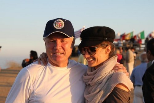 Stana with Tom LaBonge - Hike and Bikeride