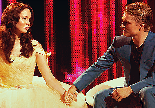 Star-Crossed Lovers - the-hunger-games Photo