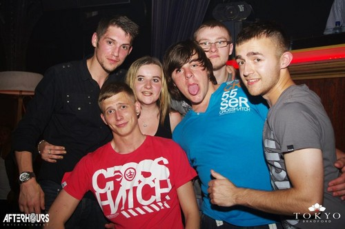 Ste, Me, Joe, Josh, James &amp; Danny On A Nite Out In Bfd ;) 100% Real  - allsoppa Photo